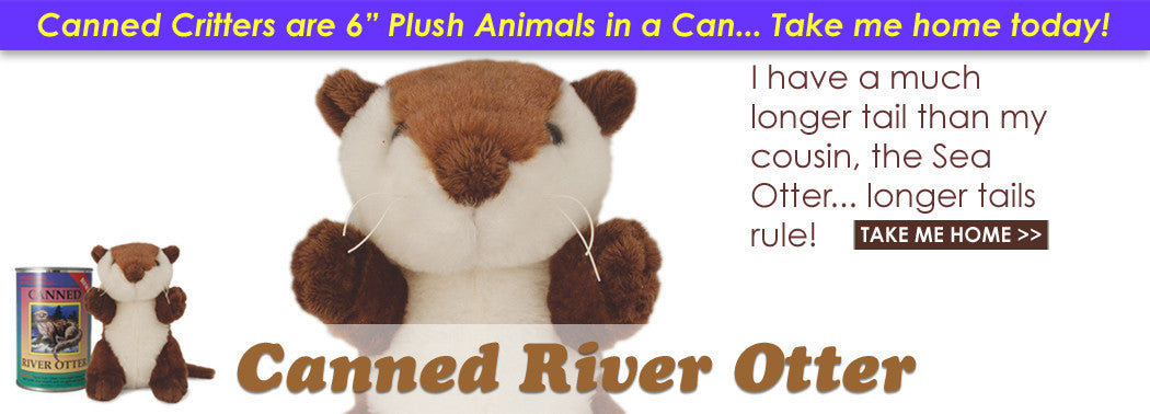 Canned River Otter