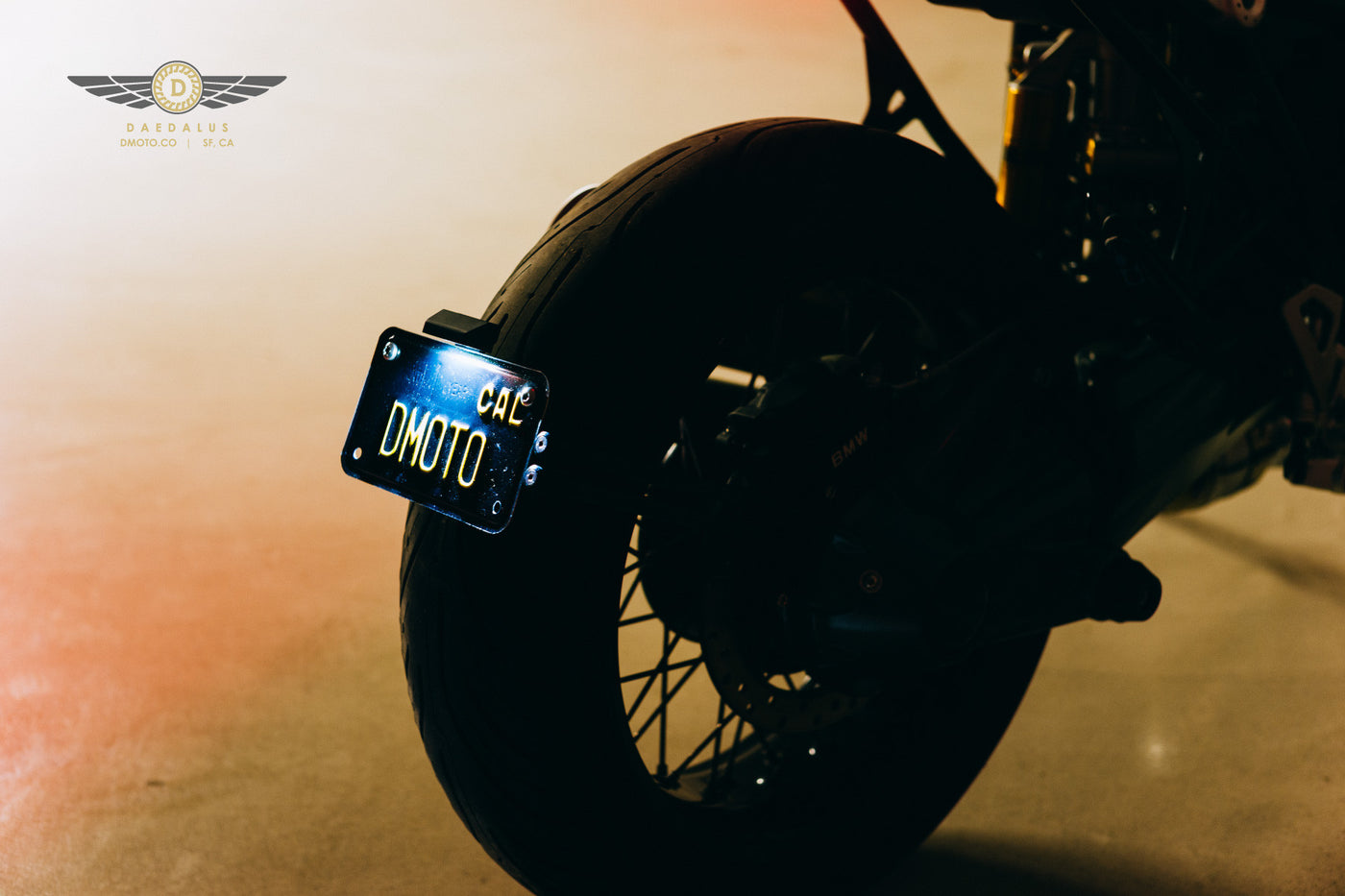 Swingarm License Plate Mount | Daedalus Design - 3