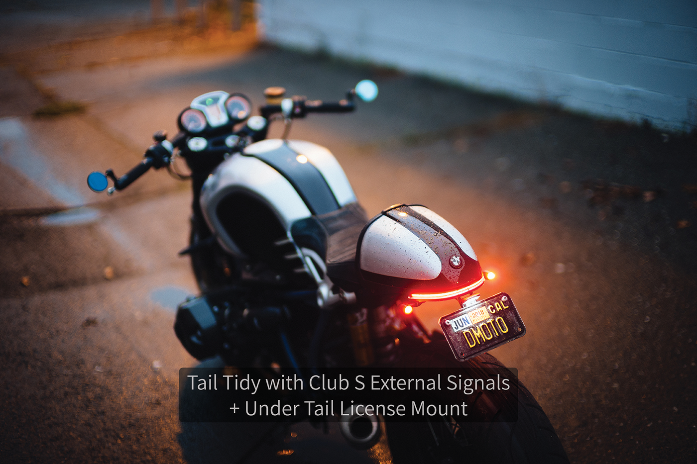 Daedalus Tail Tidy with Club S External Signals by Rizoma - BMW R nineT