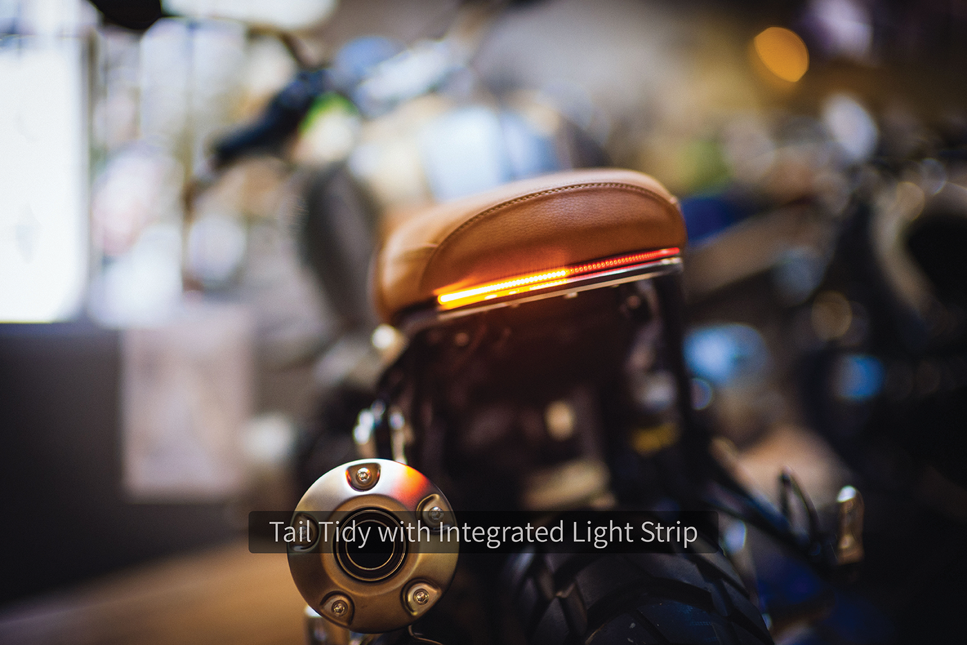 Daedalus Integrated Tail Tidy - BMW R nineT