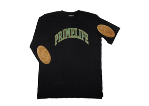 Collegiate Long-Sleeve [black/green]