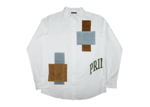 Collegiate Button Up