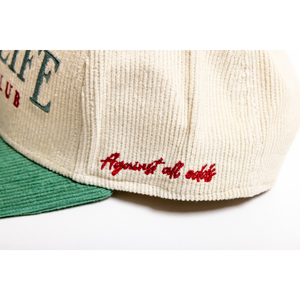 Country Club Corduroy Snapback