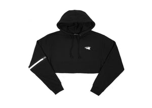 Free Creativity Cropped Hoodie [black]