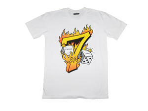 Lucky Number 7 Tee [White]