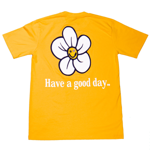 Good Day T-Shirt [mustard]
