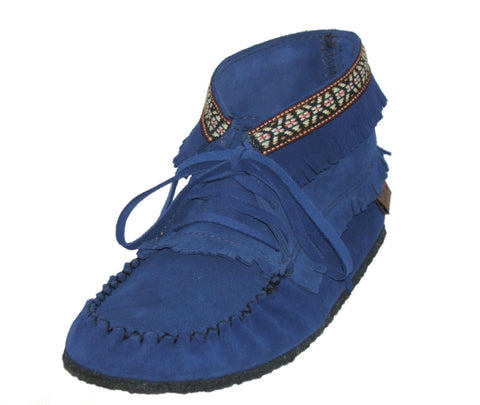 Royal Blue Ladies Booties