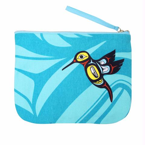 Hummingbird Zippered Pouch
