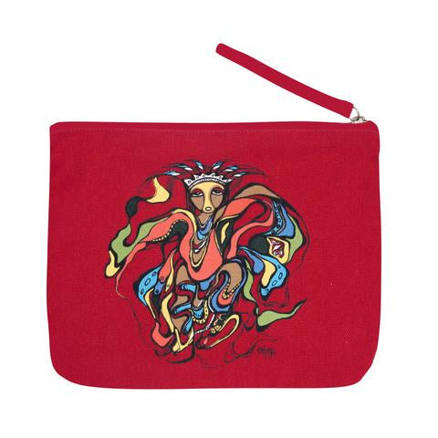 Pow Wow Dancer Zippered Pouch