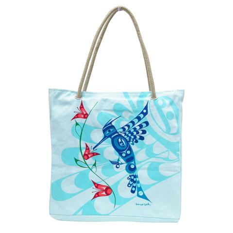Peace Love and Happiness Tote Bag