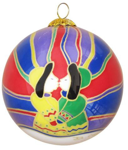 Aurora Kiss Ornament