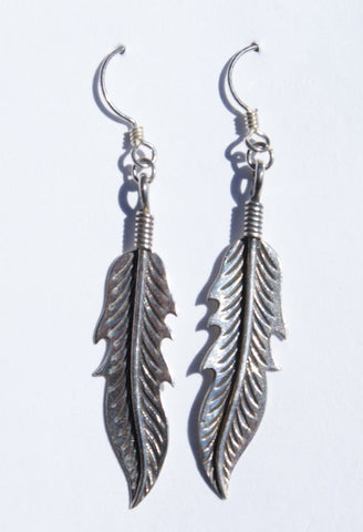 Feather Dangle Earrings