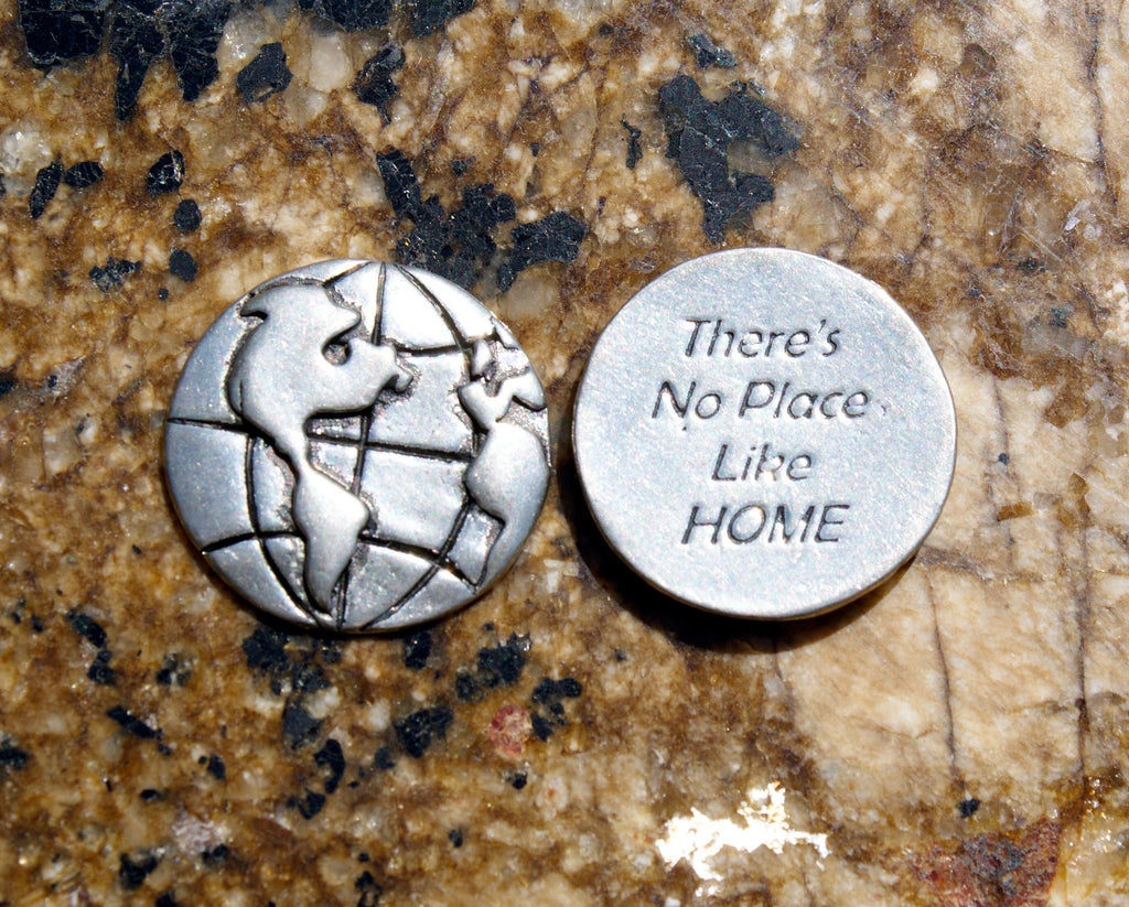 There's No Place Like Home Inspirational Coins