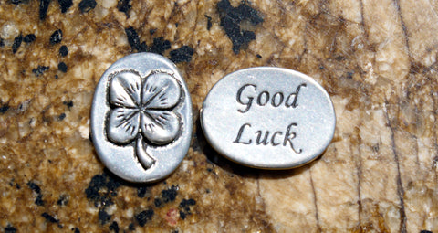 Good Luck Inspirational Coin