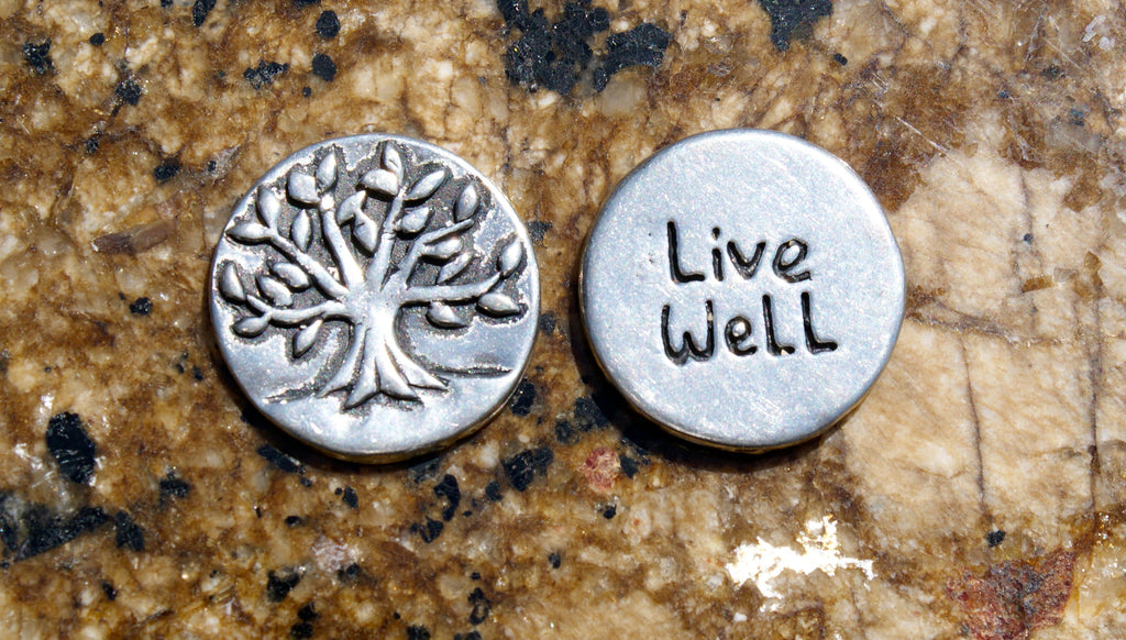 Live Well Inspirational Coins
