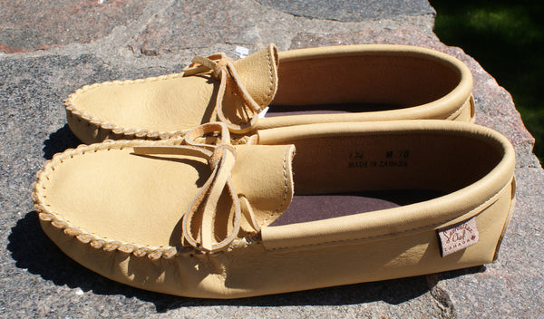Moose Hide Moccasins-Mens
