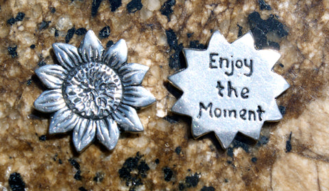 Enjoy the Moment Inspirational Coin
