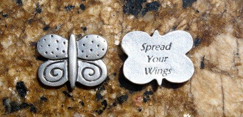 Spread Your Wings Inspirational Coins