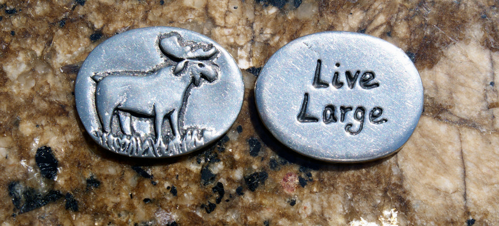 Moose Inspirational Coin