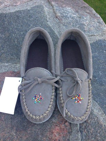 Grey Rock-N-Mocs