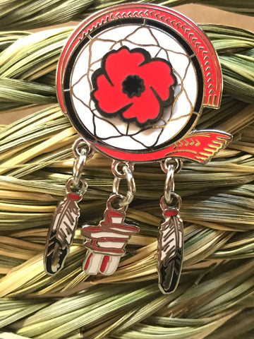 Aboriginal Veterans Pin