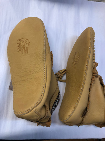 Mens Apache Moose Hide Moccasin