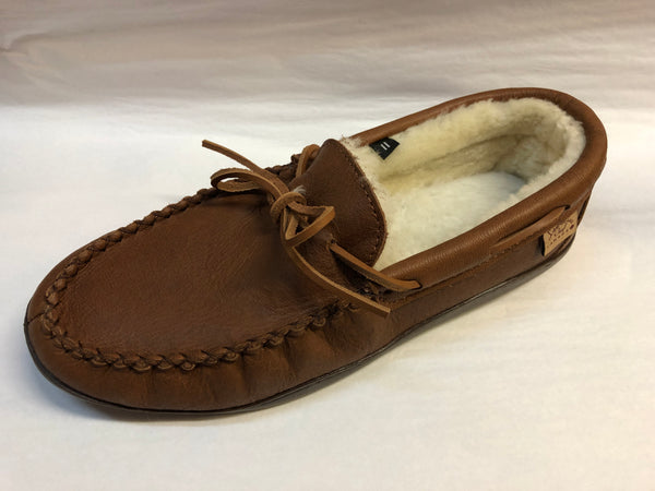 Sheepskin with Rubber Soled Moccasin