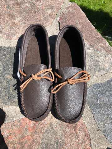 Buffalo Hide Mens Moccasins