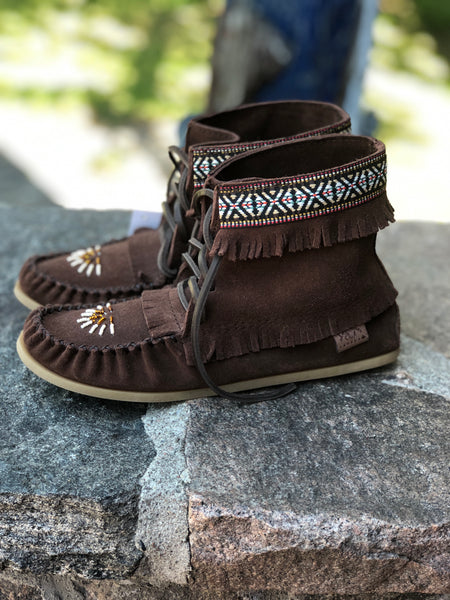 Beaded Apache-Chocolate