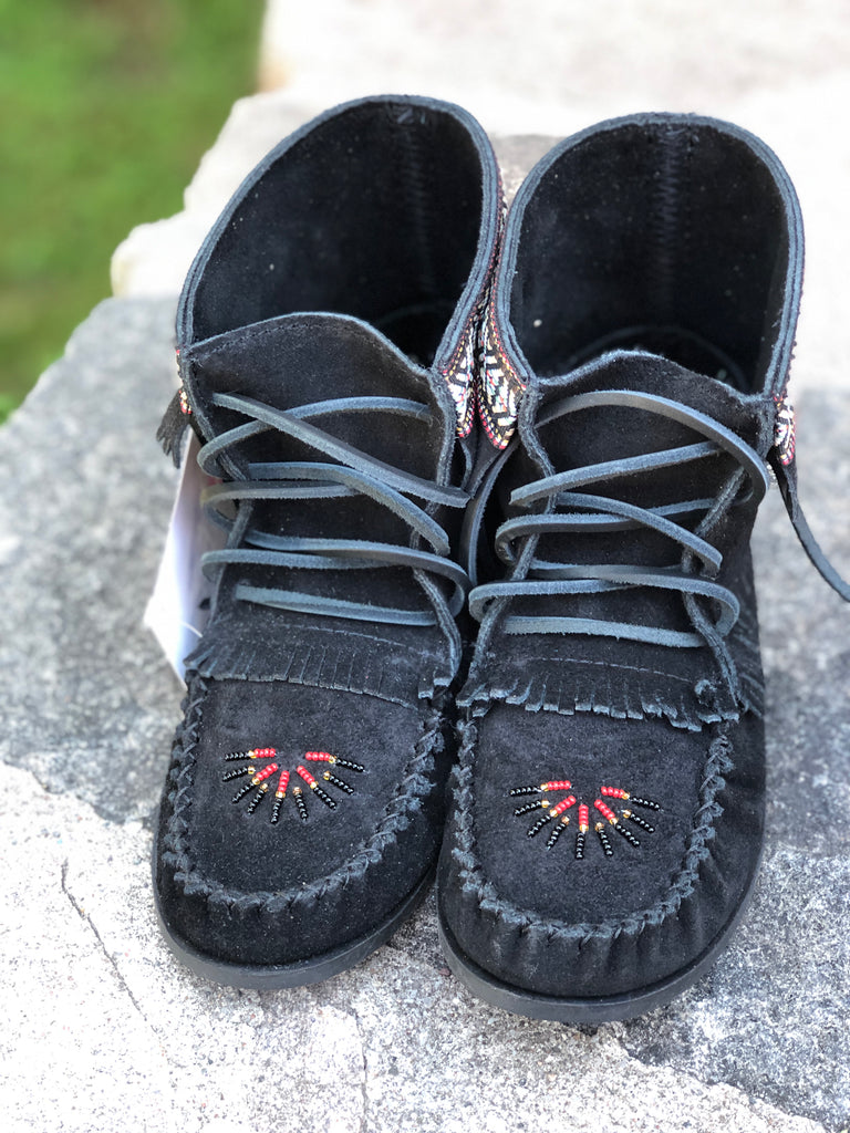 Beaded Apache-Black