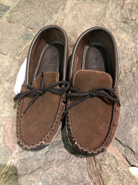 Suede/Leather Moccasins- 2 Colours Available