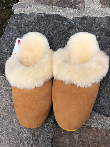 Bastien Sheepskin Comfort Mules-Ladies