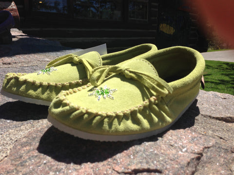 Apple Green Rock-N-Mocs