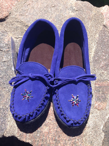 Royal Blue Rock-N-Mocs