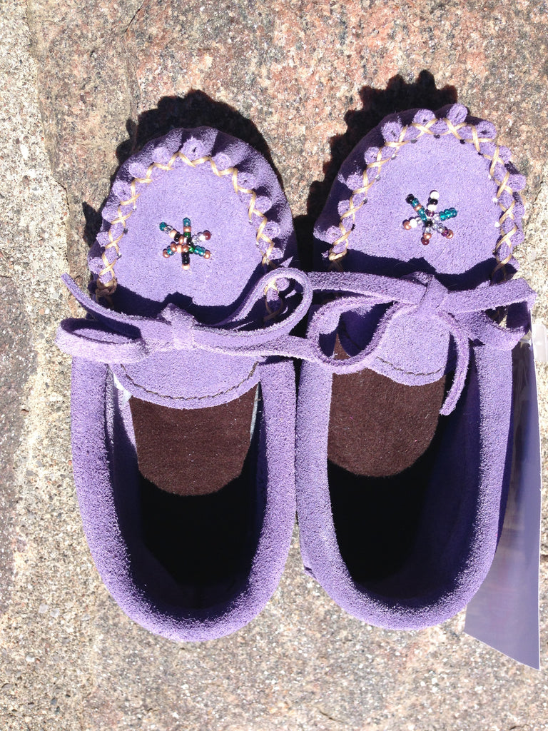 Purple Rock-n-Mocs, Kid's