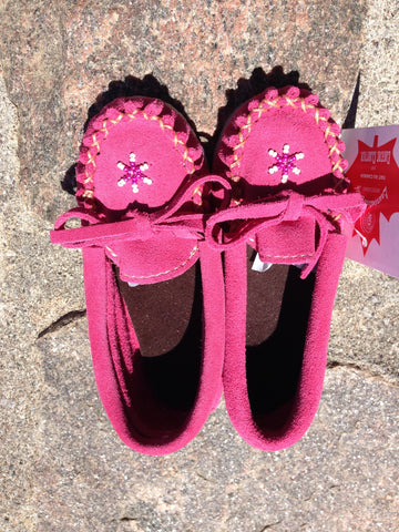 Fuchsia Rock-n-Mocs, Kids