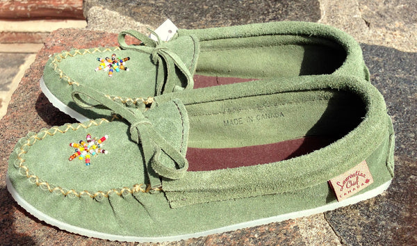 Forest Green Rock-N-Mocs
