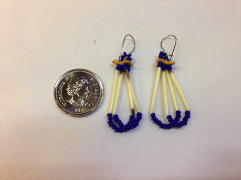 Quill & Bead Earrings