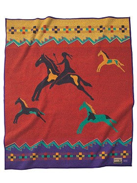 Celebrate the Horse Blanket by Pendleton