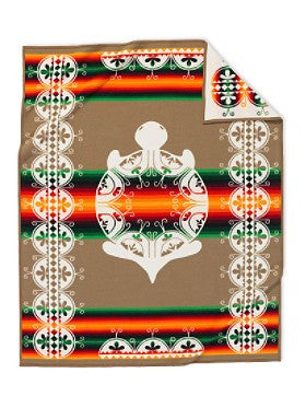 Creation Turtle Blanket by Pendleton