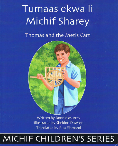Thomas and the Metis Cart