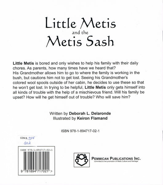 Little Metis and the Metis Sash