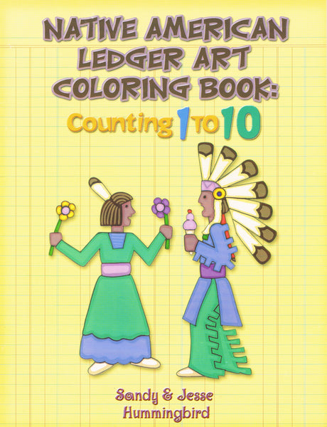 Native American Ledger Art Colouring Book