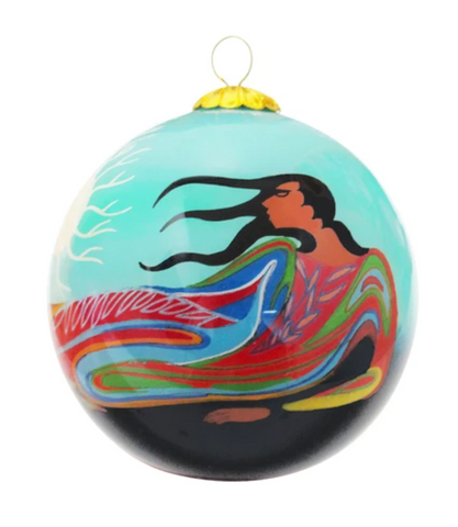Mother Earth Ornament by Maxine Noel
