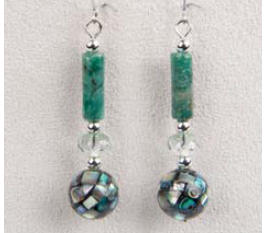 Mosaic River Earrings