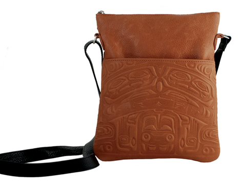Bear Box Leather Solo Bag