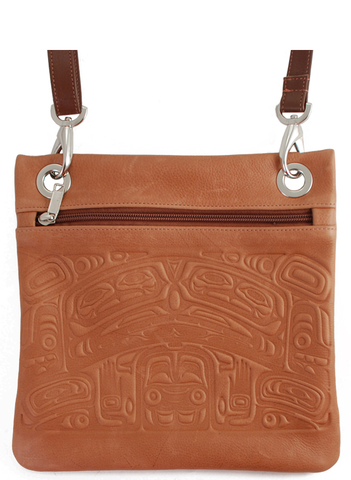 Leather Embossed Solo Bag