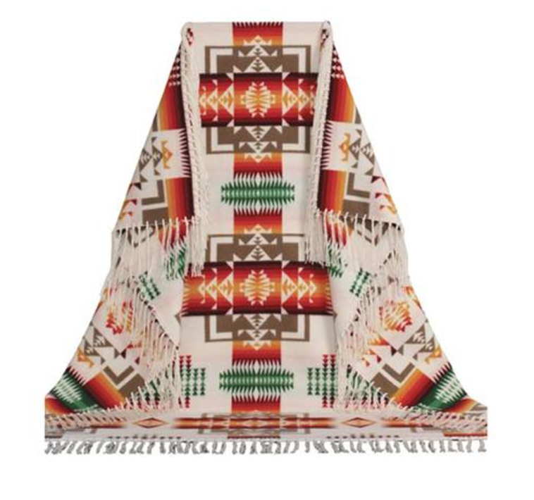 Child Fringed Shawl by Pendleton