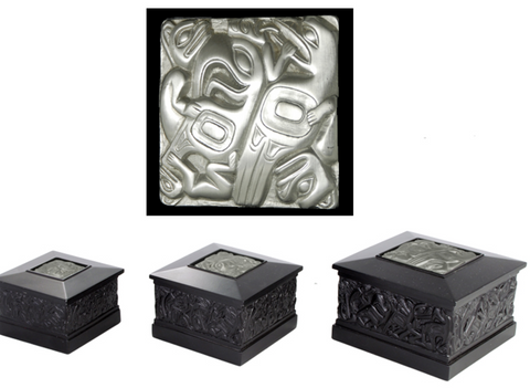 Haida Box with Pewter Inlay