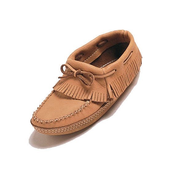 Ladies Moose Hide Ankle Moccasin **Best Seller**